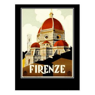 Cartão Postal Firenze Italia