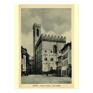 Cartão Postal Firenze Palazzio Pretorio 1