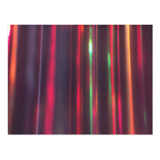 Cartão Postal Fitas da luz