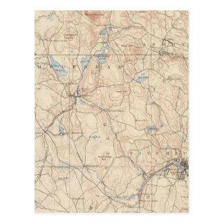 Cartão Postal Fitchburg, Massachusetts
