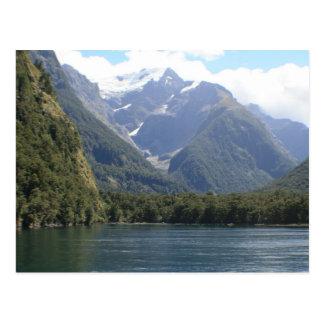 Cartão Postal Fjordlands, Nova Zelândia