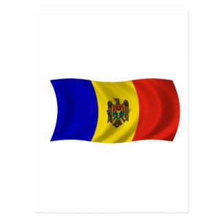 Cartão Postal Flagof Moldova
