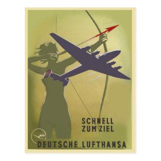 Cartão Postal Fliegerei 1939