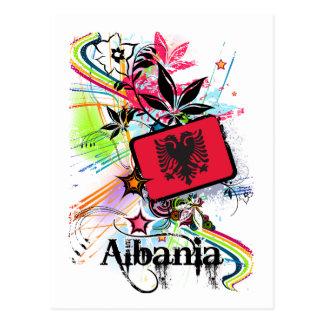 Cartão Postal Flor Albânia