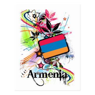 Cartão Postal Flor Arménia