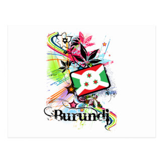 Cartão Postal Flor Burundi