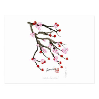 Cartão Postal flor de cerejeira 10 Tony Fernandes