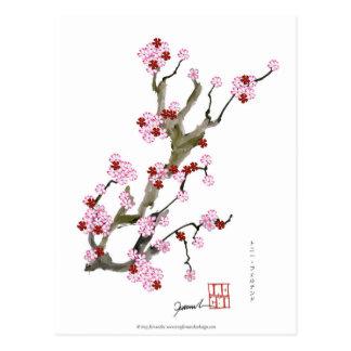Cartão Postal Flor de cerejeira 16 Tony Fernandes