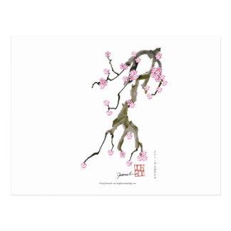 Cartão Postal Flor de cerejeira 17 Tony Fernandes