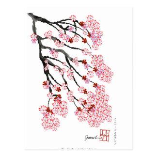 Cartão Postal Flor de cerejeira 18 Tony Fernandes