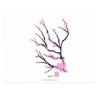 Cartão Postal Flor de cerejeira 21 de Sakura, Tony Fernandes