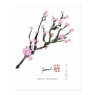 Cartão Postal Flor de cerejeira 8 de Tony Fernandes