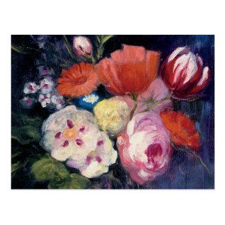 Cartão Postal Flor fresca do primavera do corte