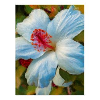 Cartão Postal Flor tropical exótica