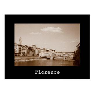 Cartão Postal Florença