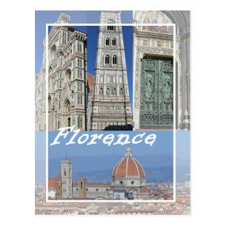 Cartão Postal Florença: o domo