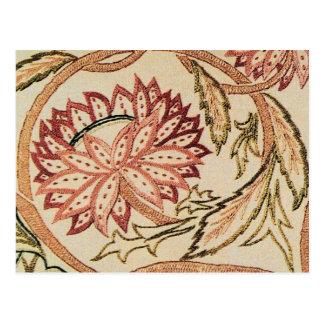 Cartão Postal Flores boémias cor-de-rosa