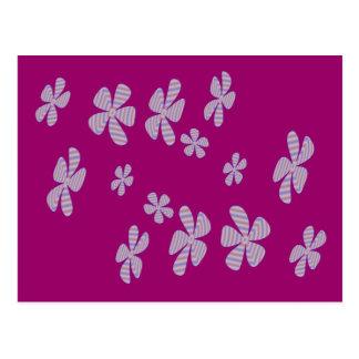 Cartão Postal flores lavendar