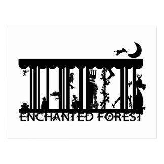 Cartão Postal floresta