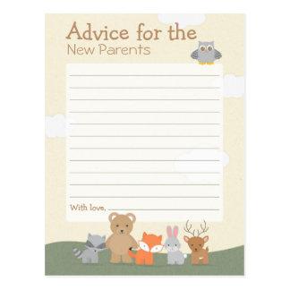"""Cartão Postal Floresta """"conselho """""""