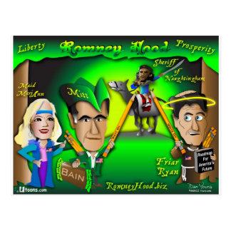 Cartão Postal Floresta da capa de Romney