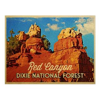 Cartão Postal Floresta nacional de Dixie