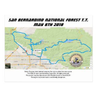 Cartão Postal Floresta nacional T.T. de San Bernardino