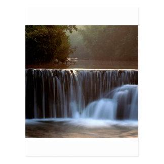 Cartão Postal Floresta natural Arkansas de Ozark da represa do