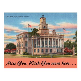 Cartão Postal Florida, Coral Gables, o tribunal