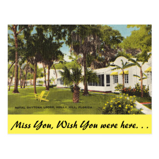 Cartão Postal Florida, monte do azevinho, alojamento real de