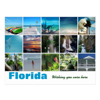 Cartão Postal Florida que deseja o estava aqui fotografia do
