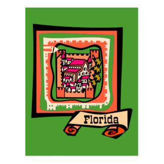 Cartão Postal Florida velho
