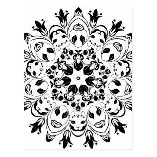 Cartão Postal Flourishing-Floral-Design-800px