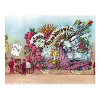 Cartão Postal Flutuador 1916 da arte de Comus