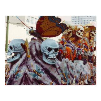 Cartão Postal Flutuador do carnaval
