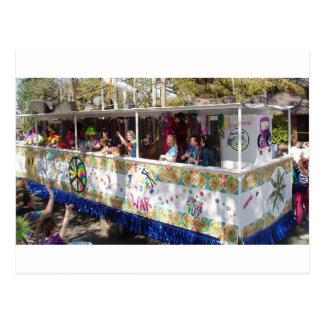 Cartão Postal Flutuador do Hippie do carnaval