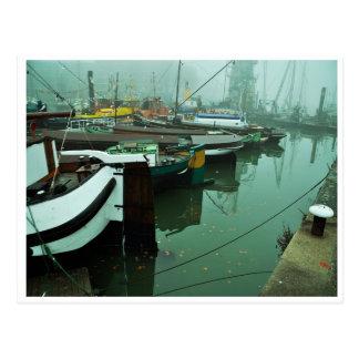 Cartão Postal Foggy Harbor
