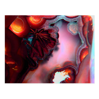 Cartão Postal Fogo dentro da arte abstracta