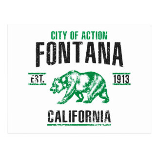Cartão Postal Fontana