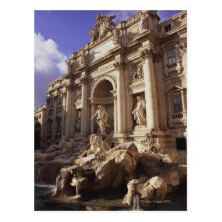 Cartão Postal Fonte do Trevi, Roma, Italia