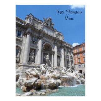 Cartão Postal Fonte Roma do Trevi