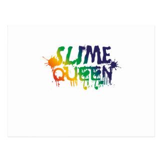 Cartão Postal Fontes do fazer do limo da rainha do limo