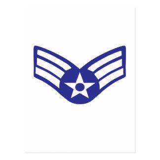Cartão Postal Força aérea dos EUA da classe superior do aviador