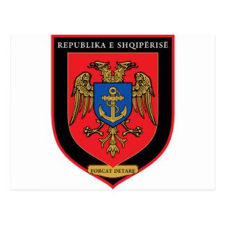 Cartão Postal Forças navais albanesas - Forcat Detare