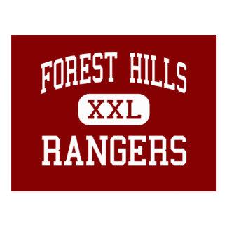 Cartão Postal Forest Hills - guardas florestais - alto - Forest
