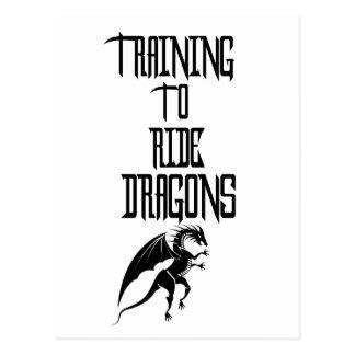 Cartão Postal Formação para montar dragões
