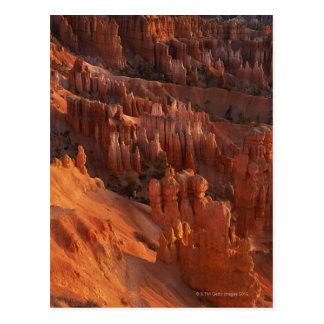 Cartão Postal Formações de rocha irregulares
