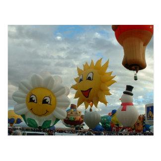 Cartão Postal Formas do Special de Albuquerque da festa do balão