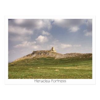 Cartão Postal Fortaleza de Heraclea