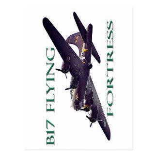 Cartão Postal Fortaleza do vôo B17